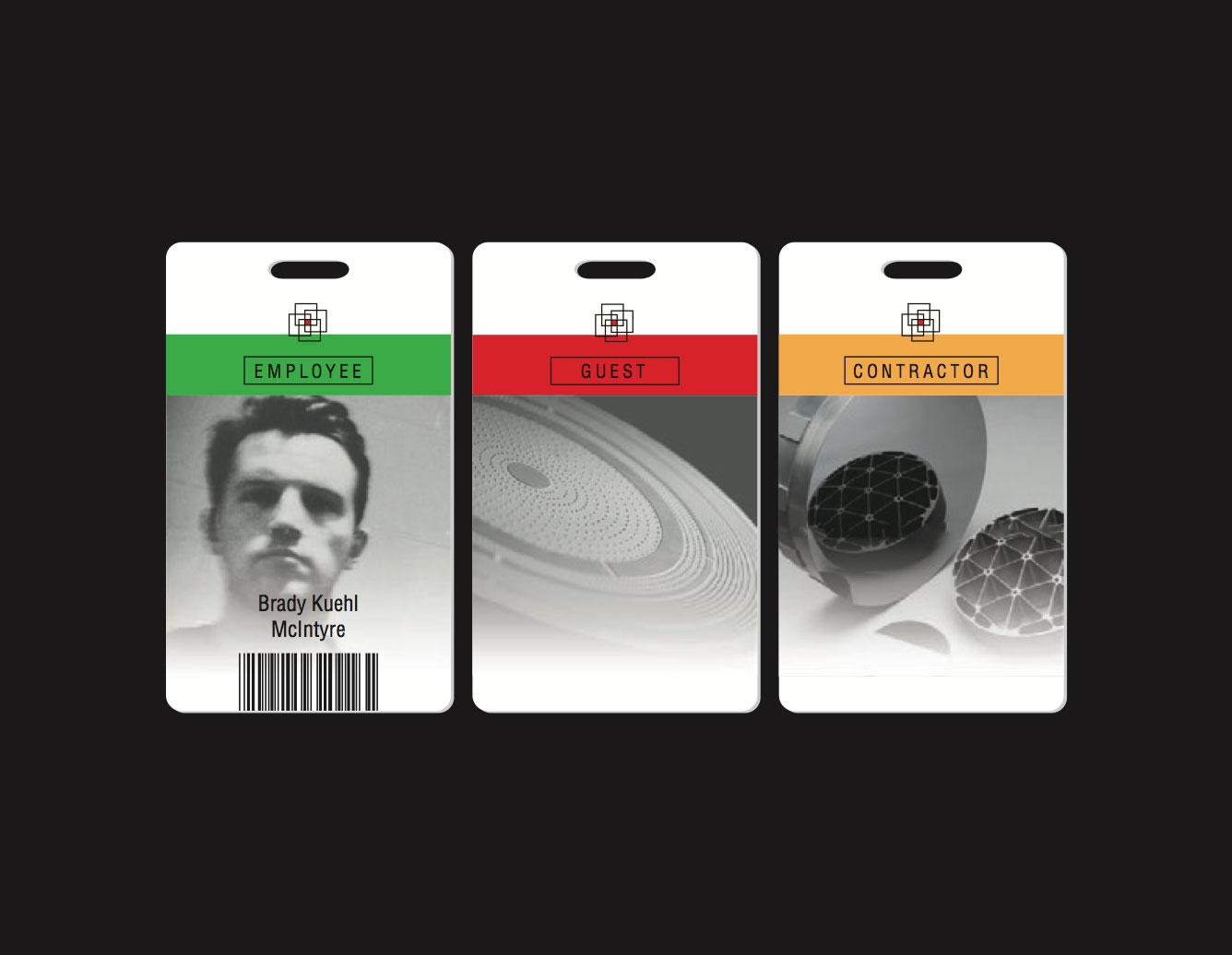 employee badges makyo studios
